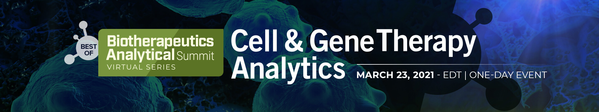 Cell & Gene Therapy Analytics Banner Image