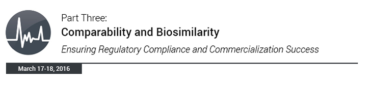 Comparability and Biosimilarity